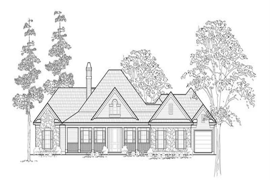 Main image for house plan # 8461