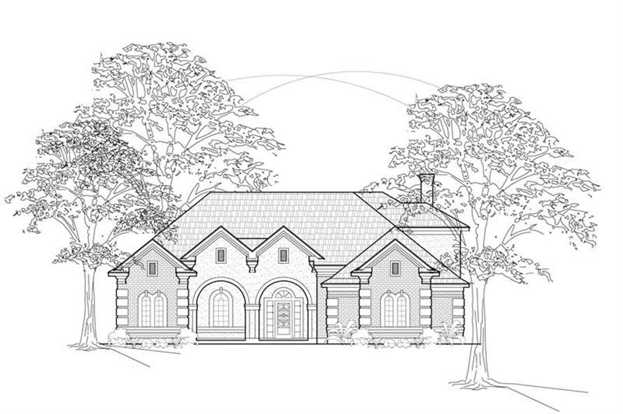 Main image for house plan # 8464
