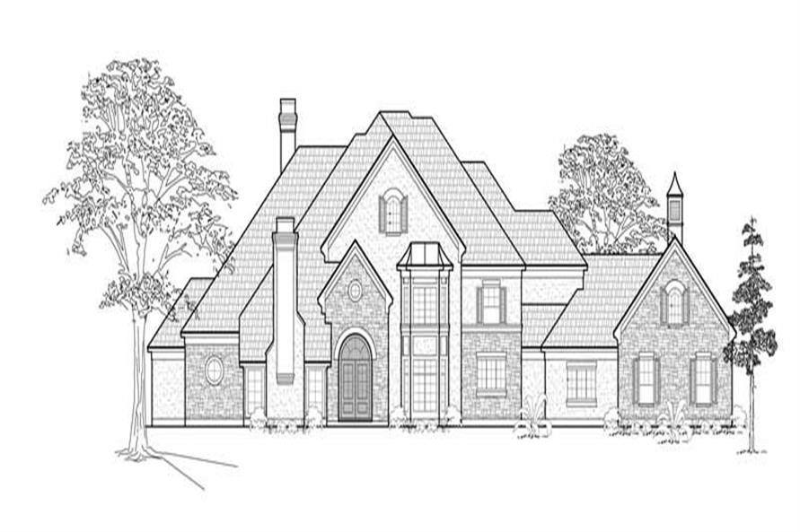 Main image for house plan # 8728