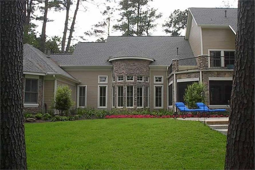 134-1218: Home Exterior Photograph-Rear View