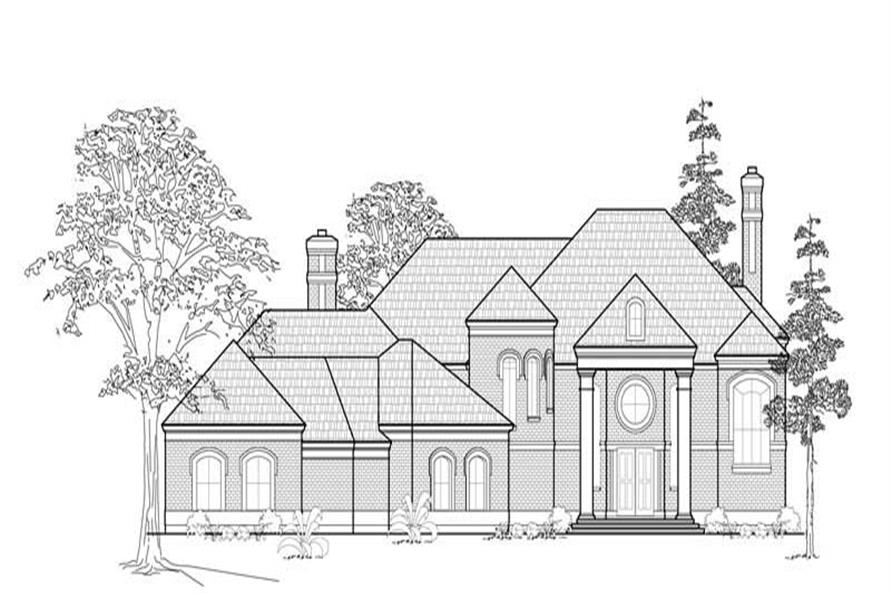 Main image for house plan # 8746