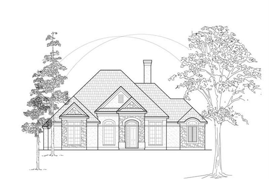 Main image for house plan # 8467