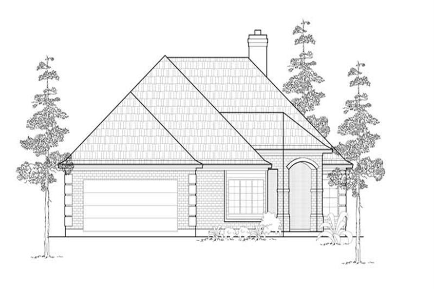 Main image for house plan # 8421