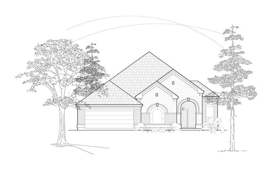 Main image for house plan # 8424