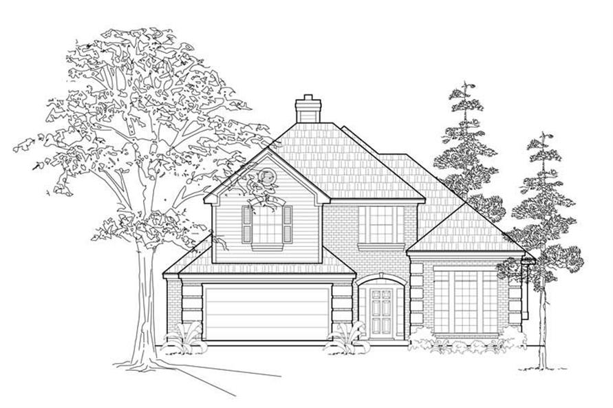 Main image for house plan # 8428