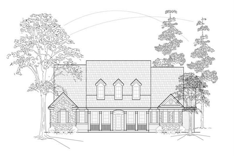 Main image for house plan # 8442