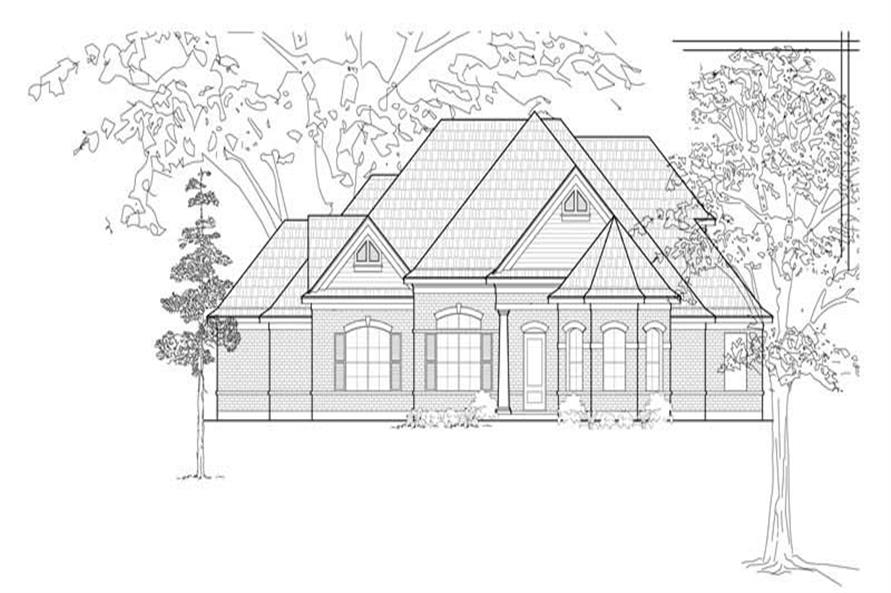 Main image for house plan # 8509