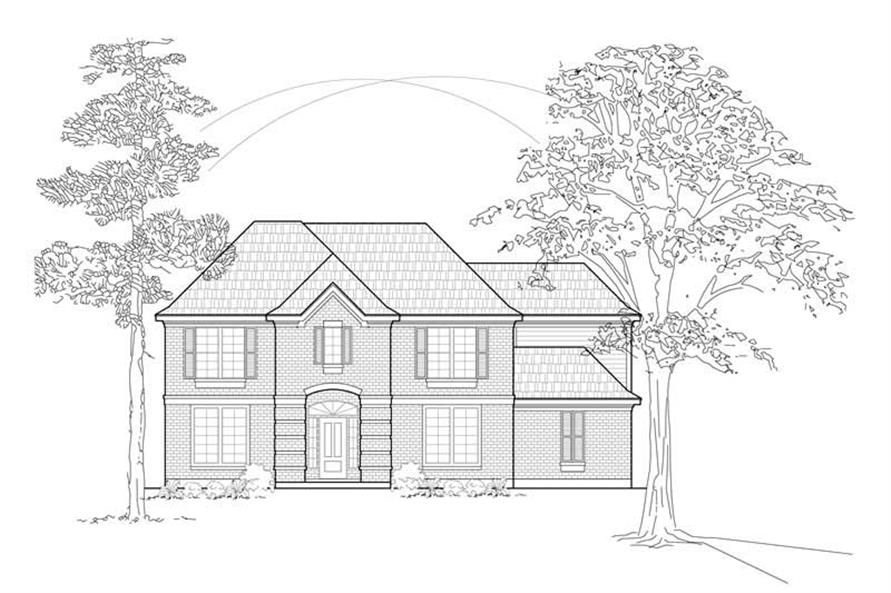 Main image for house plan # 8503