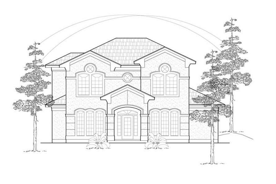 Main image for house plan # 8457