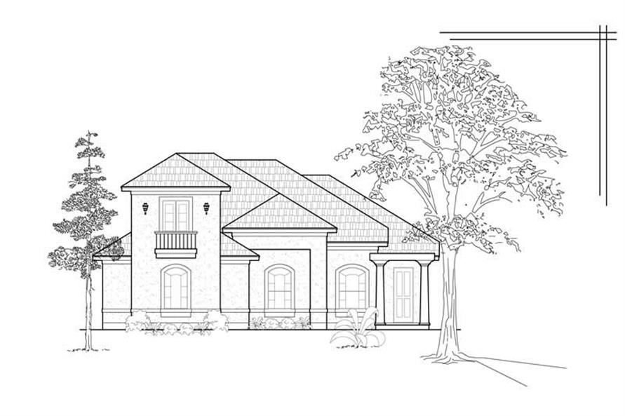 Main image for house plan # 8486