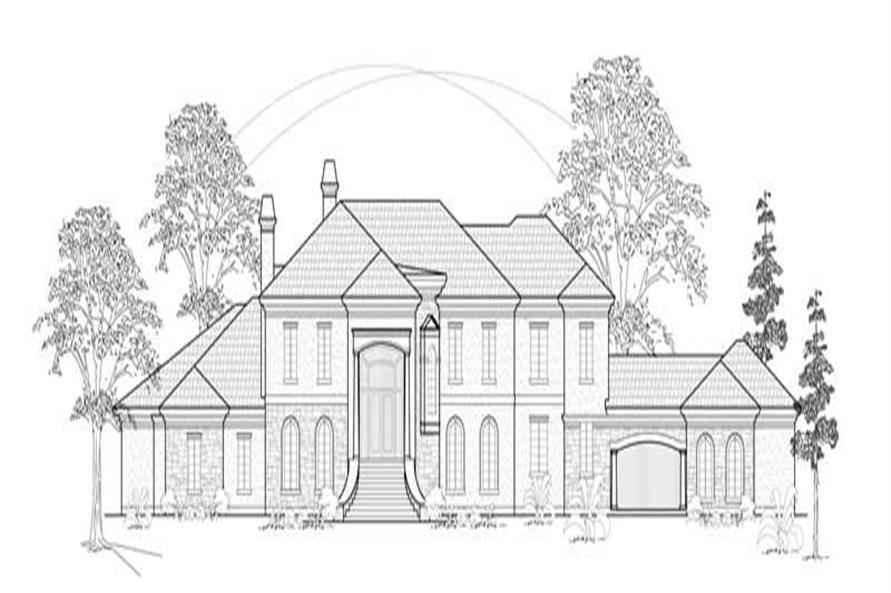 Main image for house plan # 8765