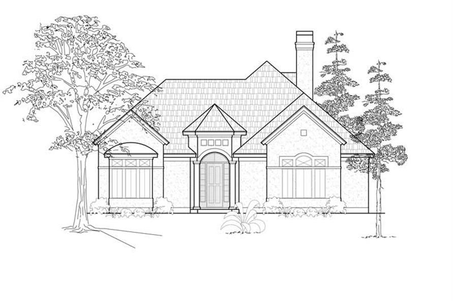 Main image for house plan # 8430
