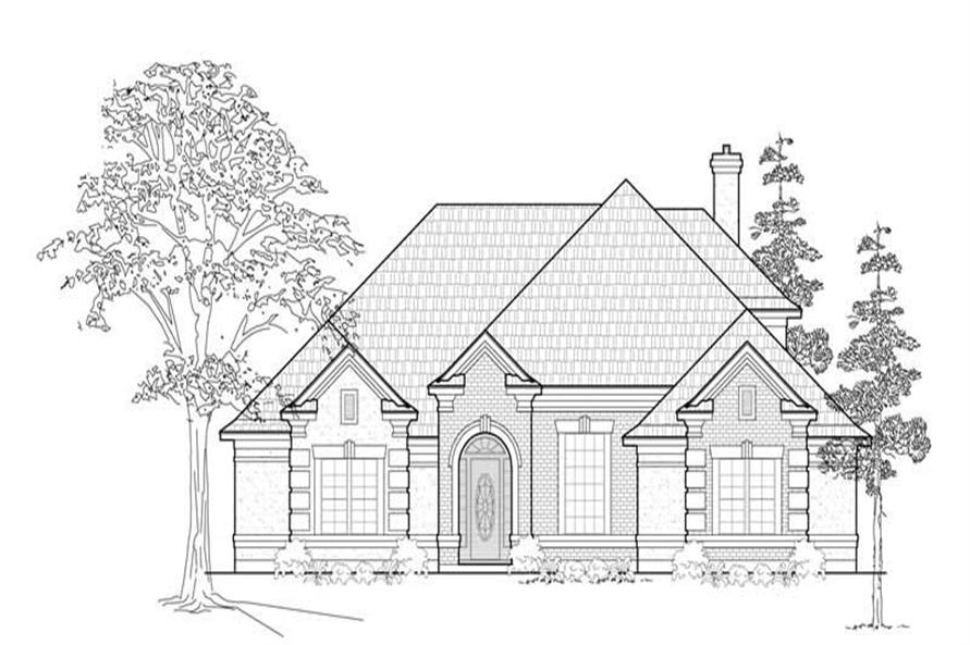 Main image for house plan # 8434