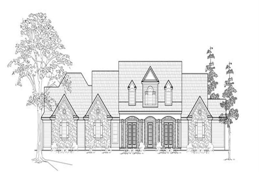Main image for house plan # 8544