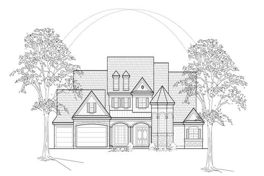 Main image for house plan # 8624