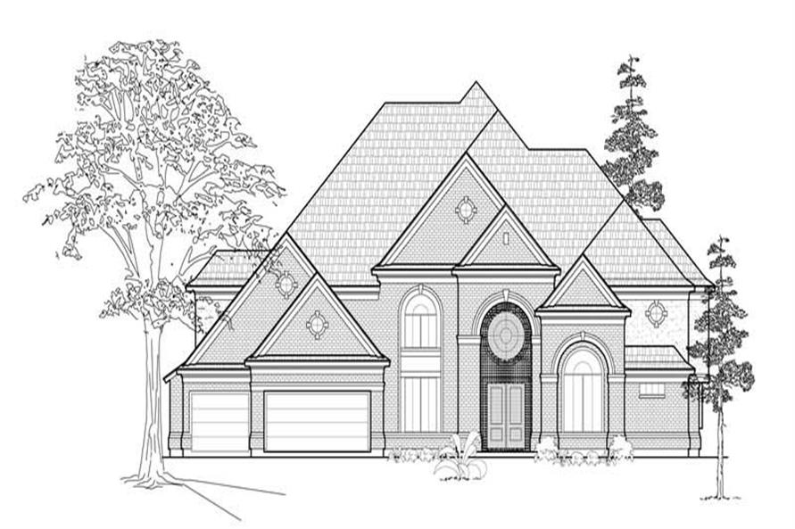 Main image for house plan # 8729