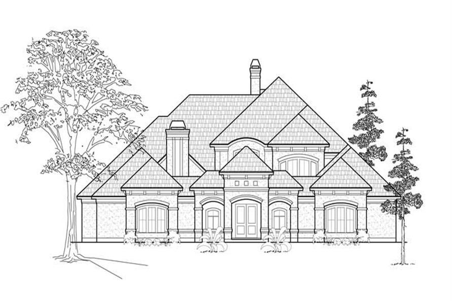 Main image for house plan # 8730