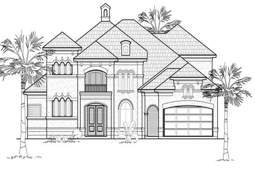 Main image for house plan # 8731