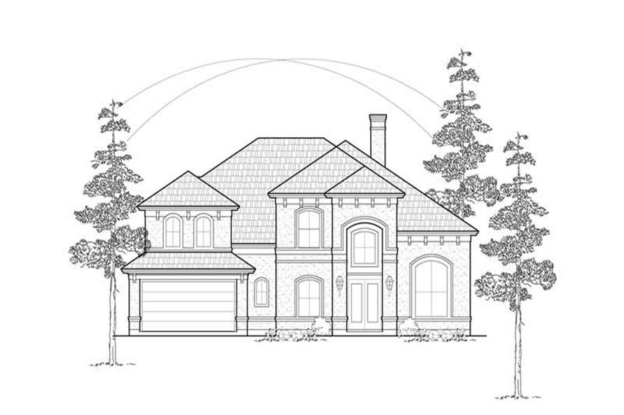 Main image for house plan # 8531