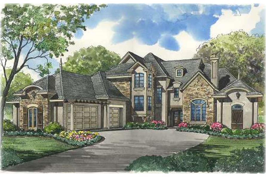 Beautiful image of house plan # 134-1322