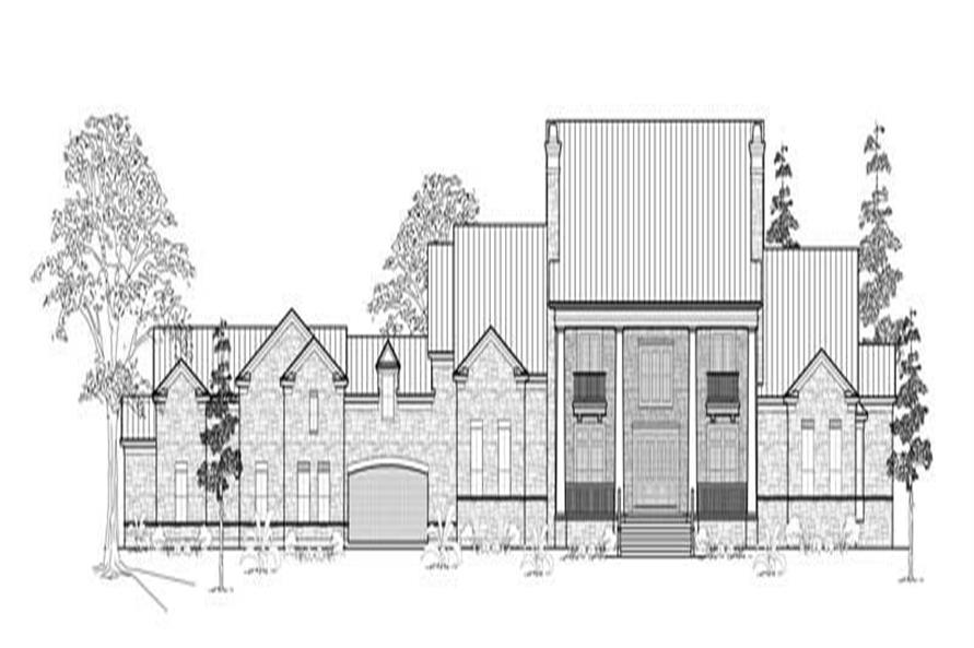 Main image for house plan # 8772