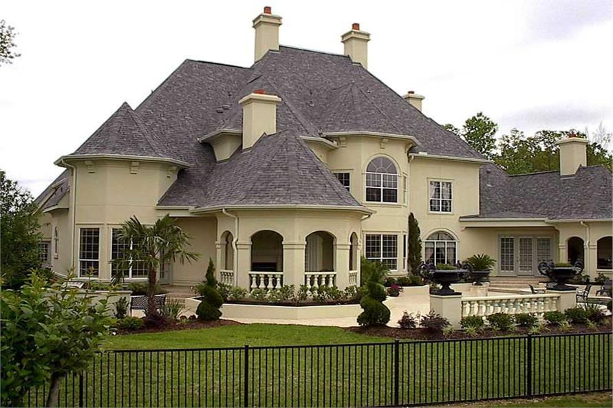 134-1326: Home Exterior Photograph-Rear View