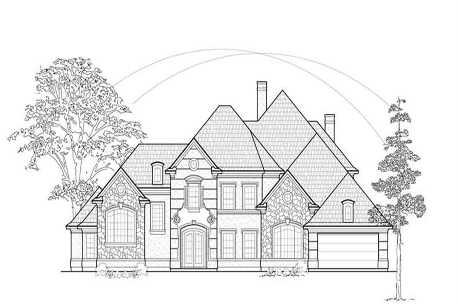 Main image for house plan # 8748