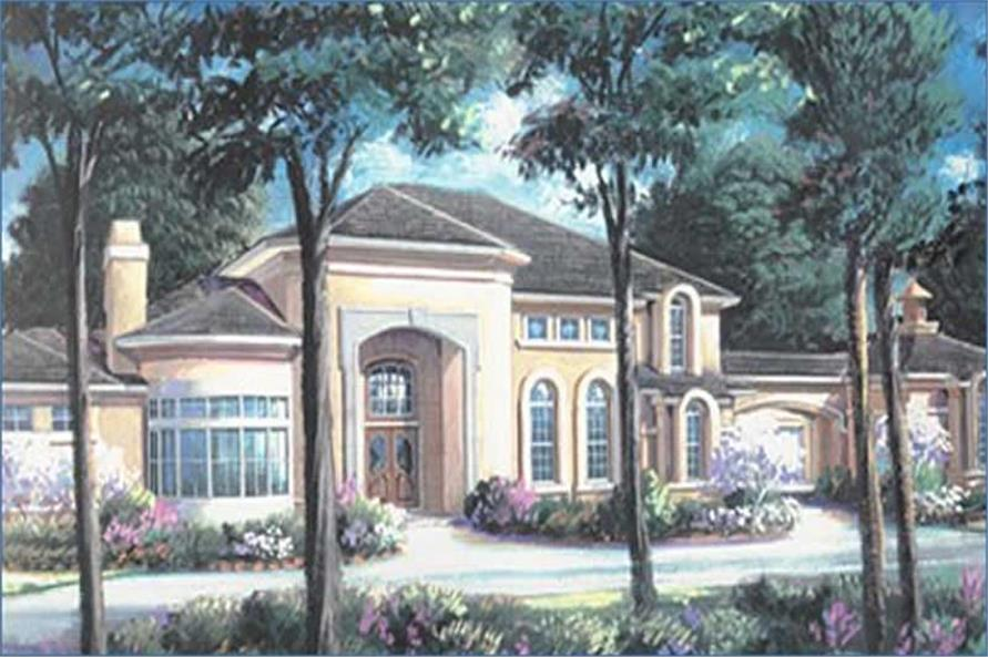 Main image for house plan # 134-1331