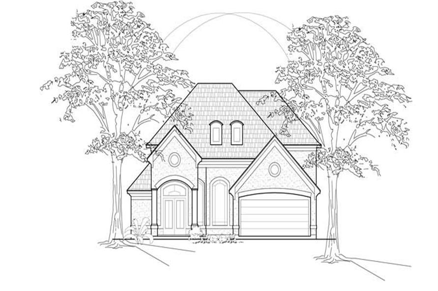 Main image for house plan # 8545