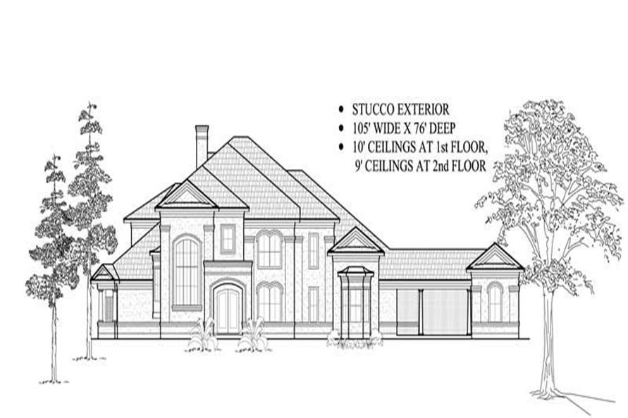 Main image for house plan # 8725