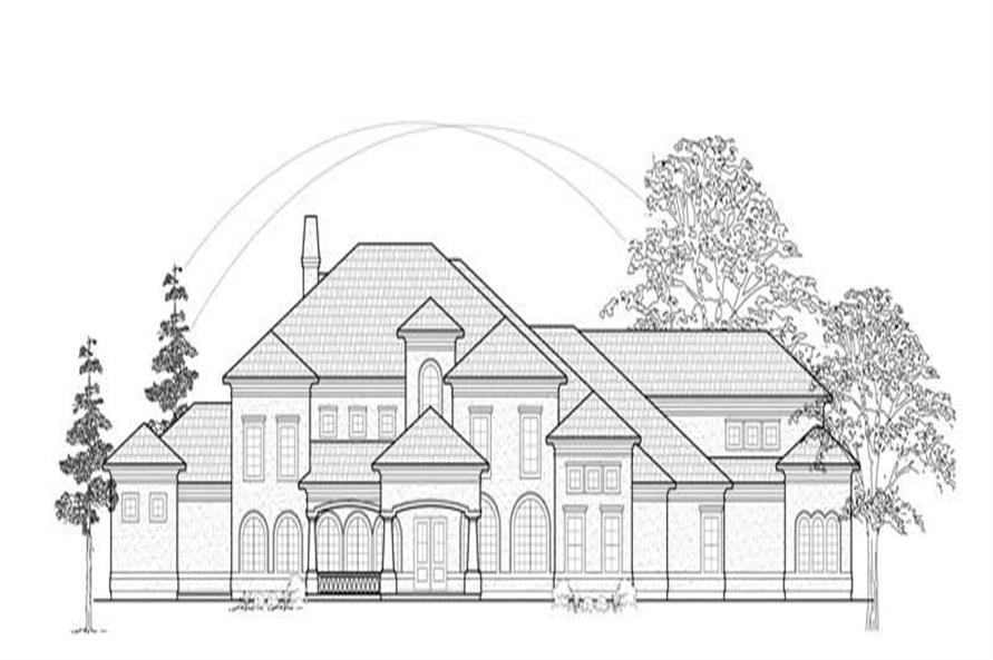 Main image for house plan # 8745