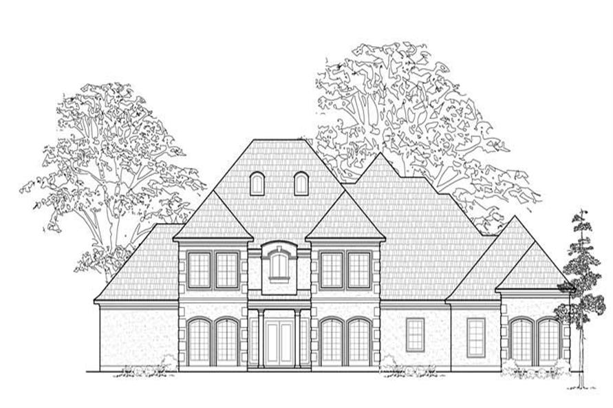 Main image for house plan # 8708