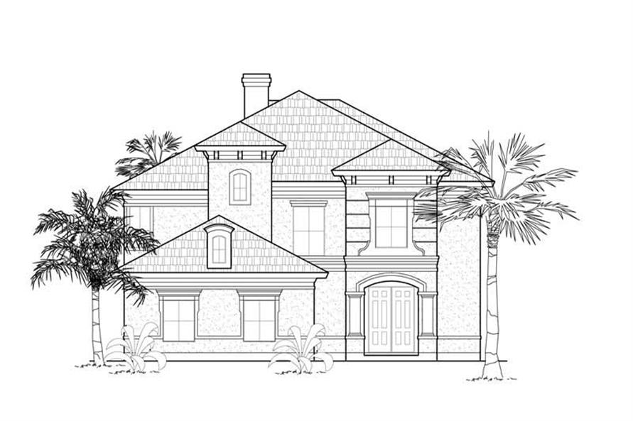 Main image for house plan # 8532