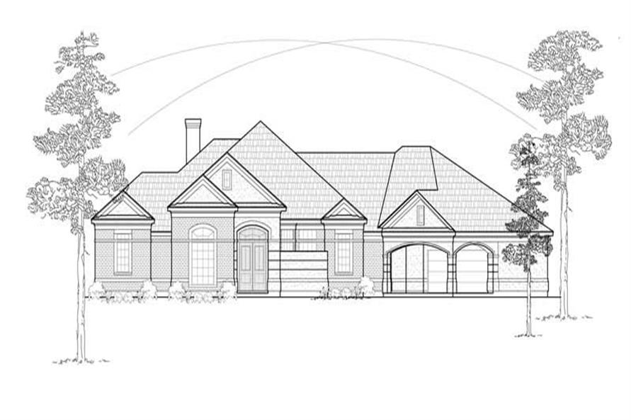 Main image for house plan # 8471
