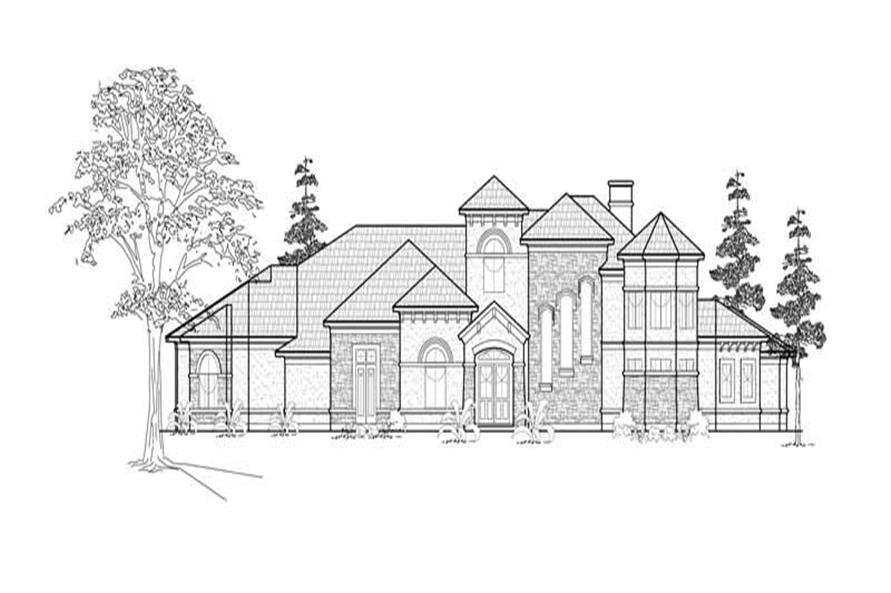 Main image for house plan # 8733