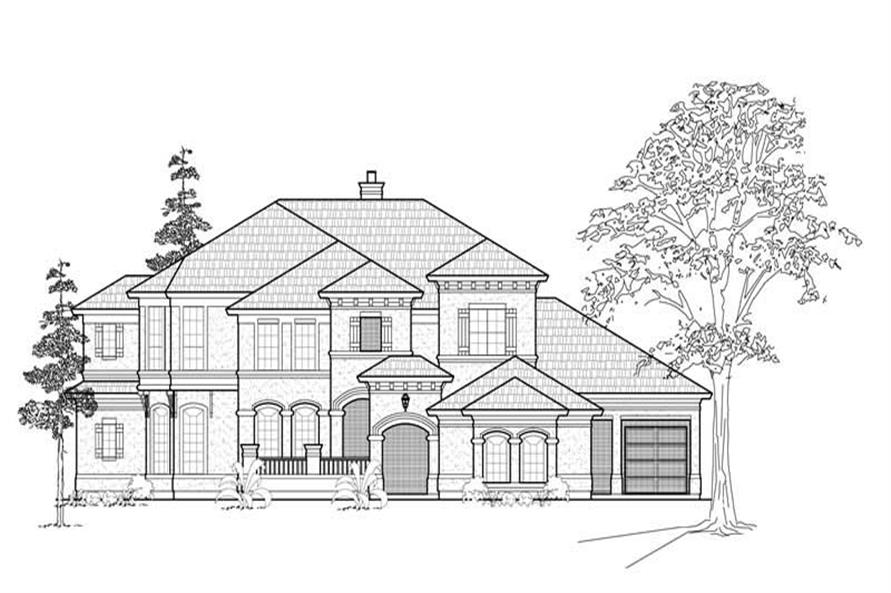 Main image for house plan # 8715