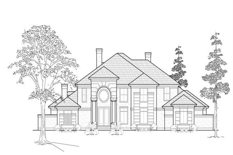 Main image for house plan # 8615