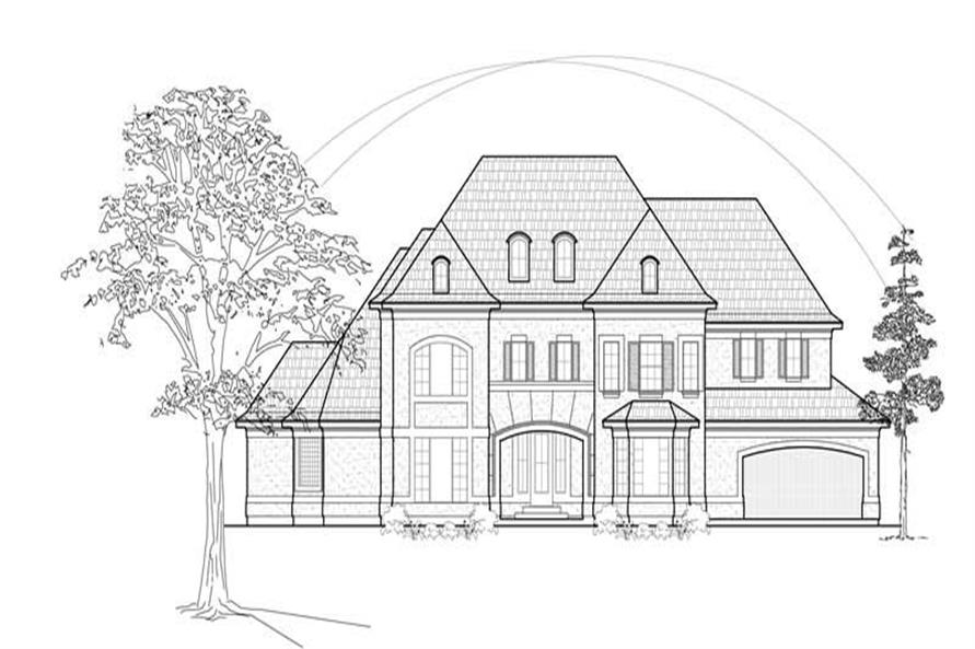 Main image for house plan # 8639
