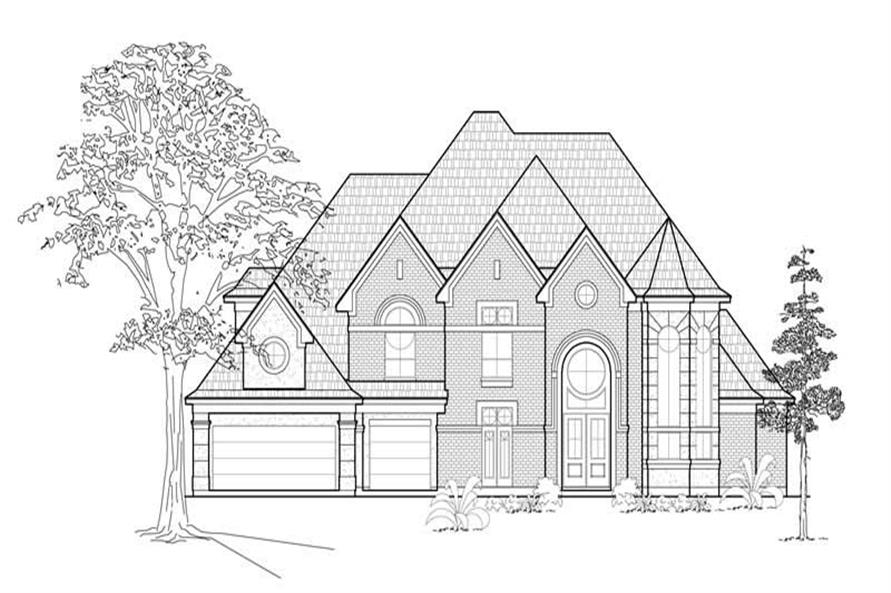 Main image for house plan # 8663