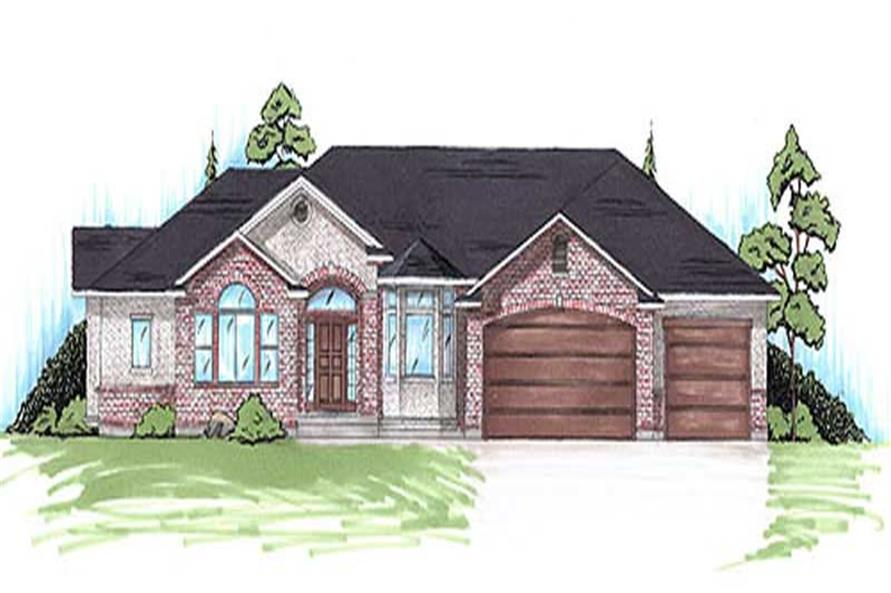 Main image for house plan # 20628