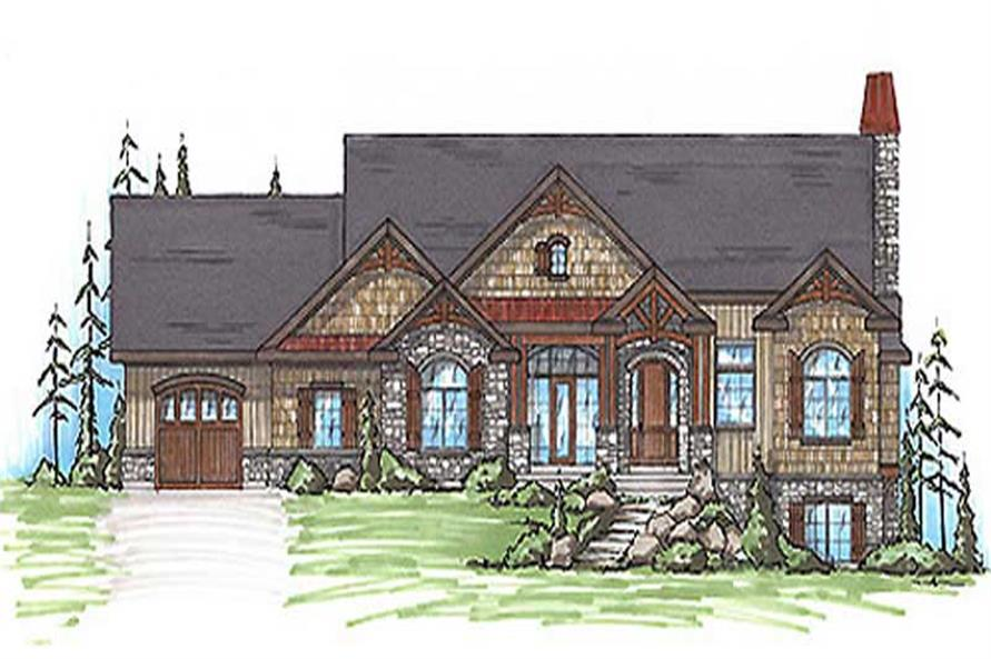 Main image for house plan # 20627