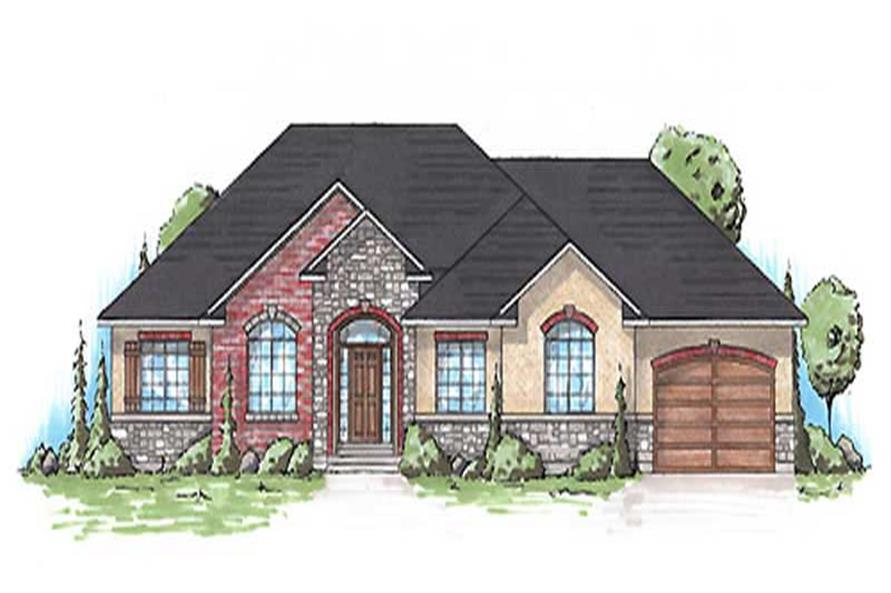 Main image for house plan # 20625