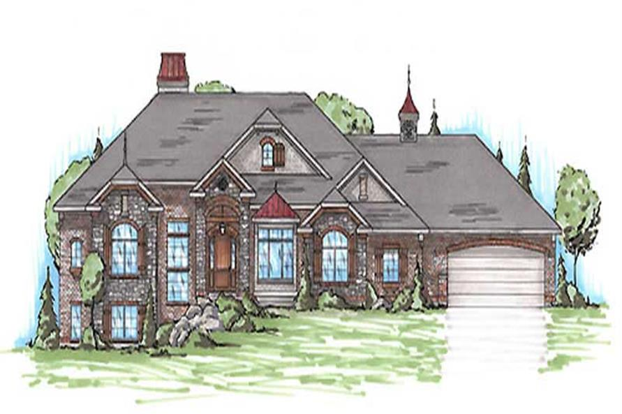 Main image for house plan # 20636