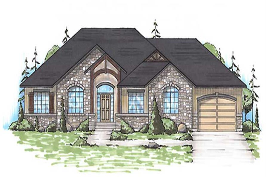 Main image for house plan # 20626
