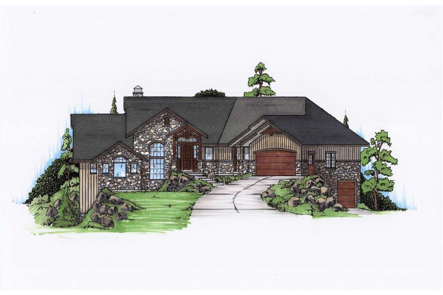 Main image for house plan # 20630