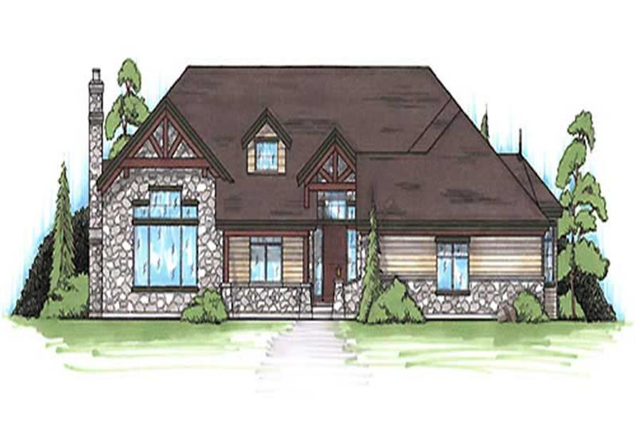 Main image for house plan # 20629