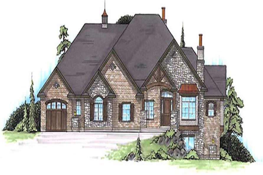 Main image for house plan # 20637