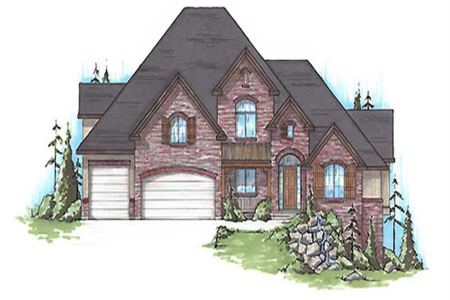 Main image for house plan # 11149