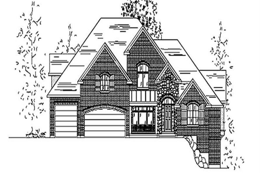 Main image for house plan # 11150
