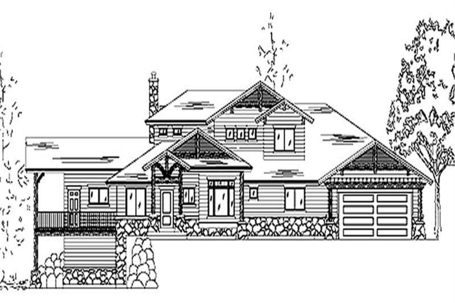 Main image for house plan # 11151